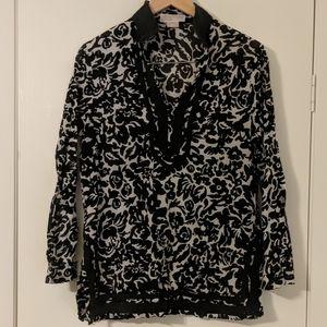 Micheal Kora long sleeve cotton shirt